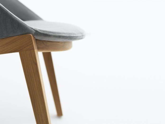Bensen circa dining chair wood story 2