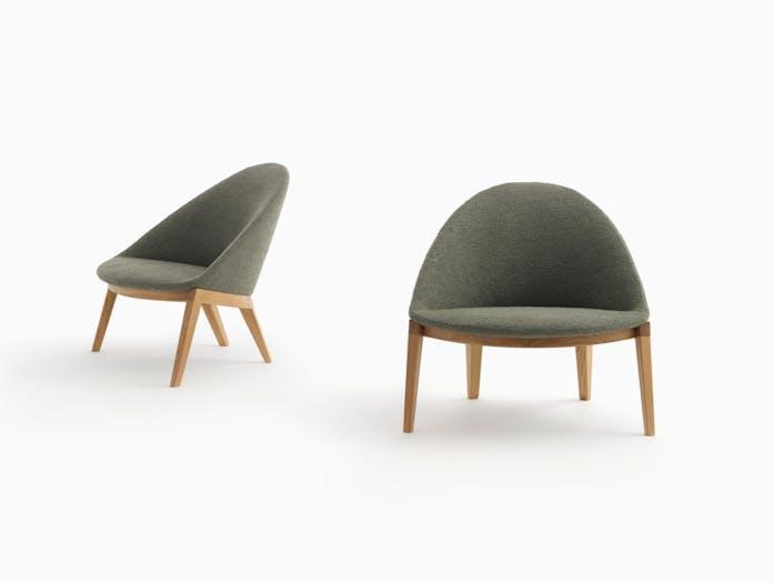Bensen circa lounge chair wood base story 3