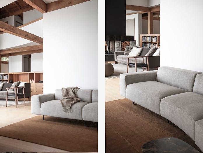 Bensen endless sofa 2