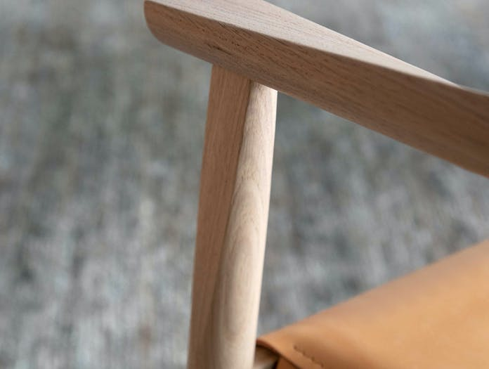 Bensen tokyo chair close up 2