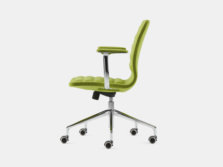 Cappellini Lotus Task Chair Low Green Jasper Morrison