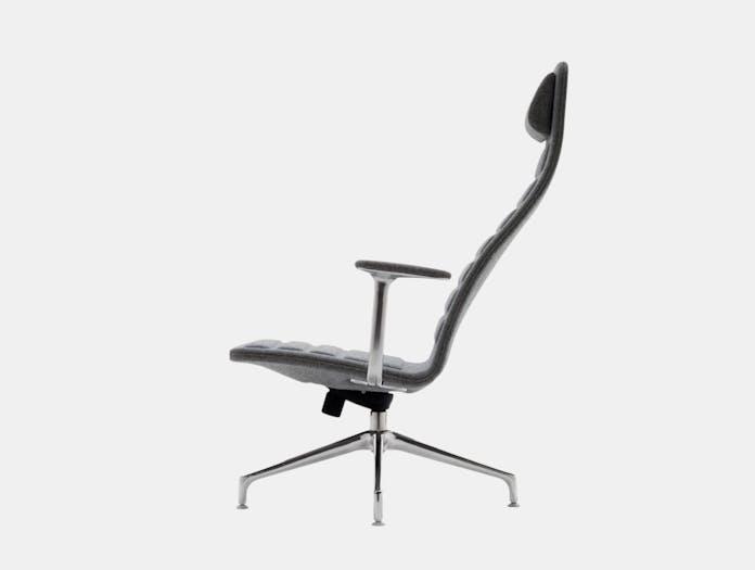 Cappellini Lotus Task Chair Side High Jasper Morrison
