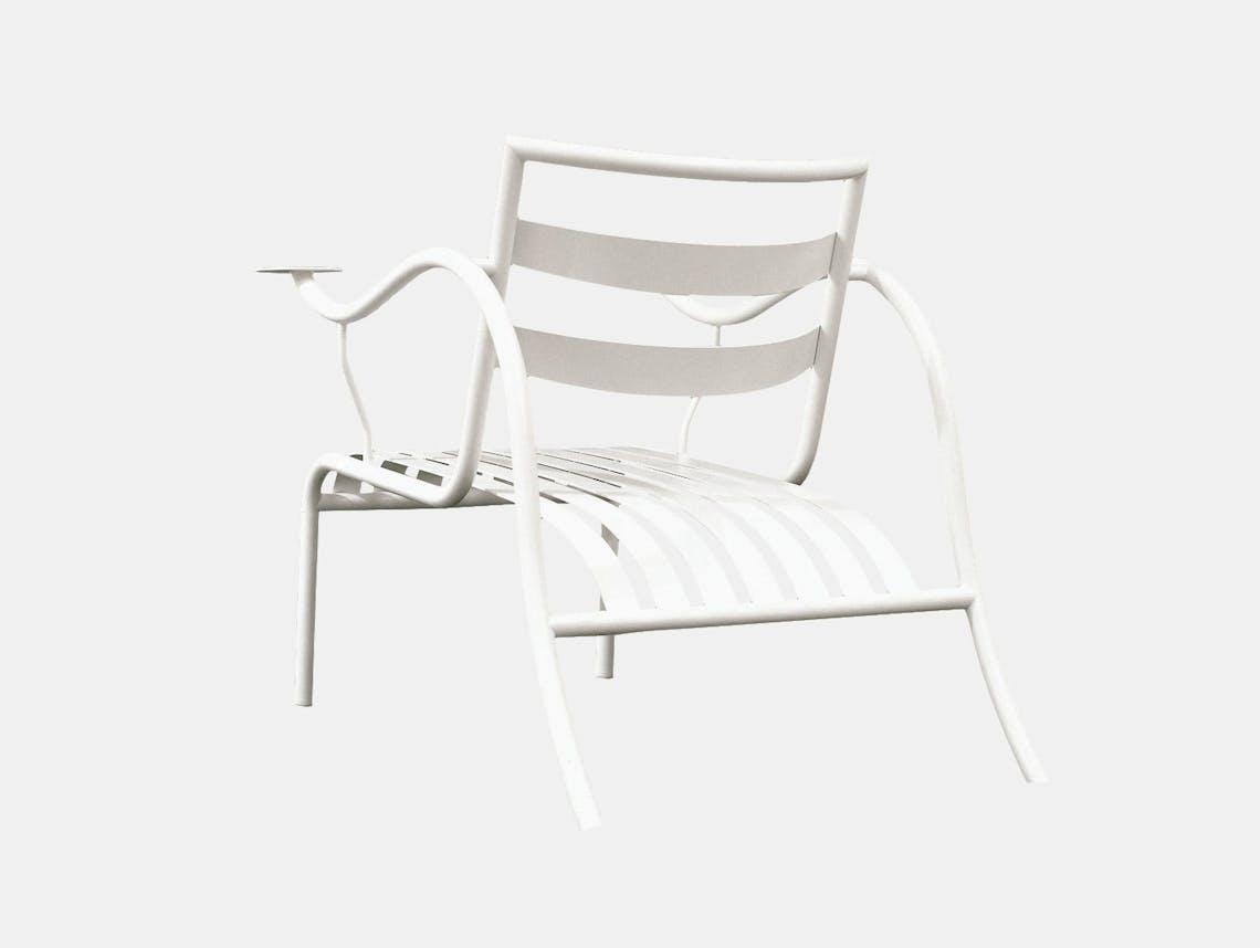 Cappellini Thinking Mans Chair White Jasper Morrison