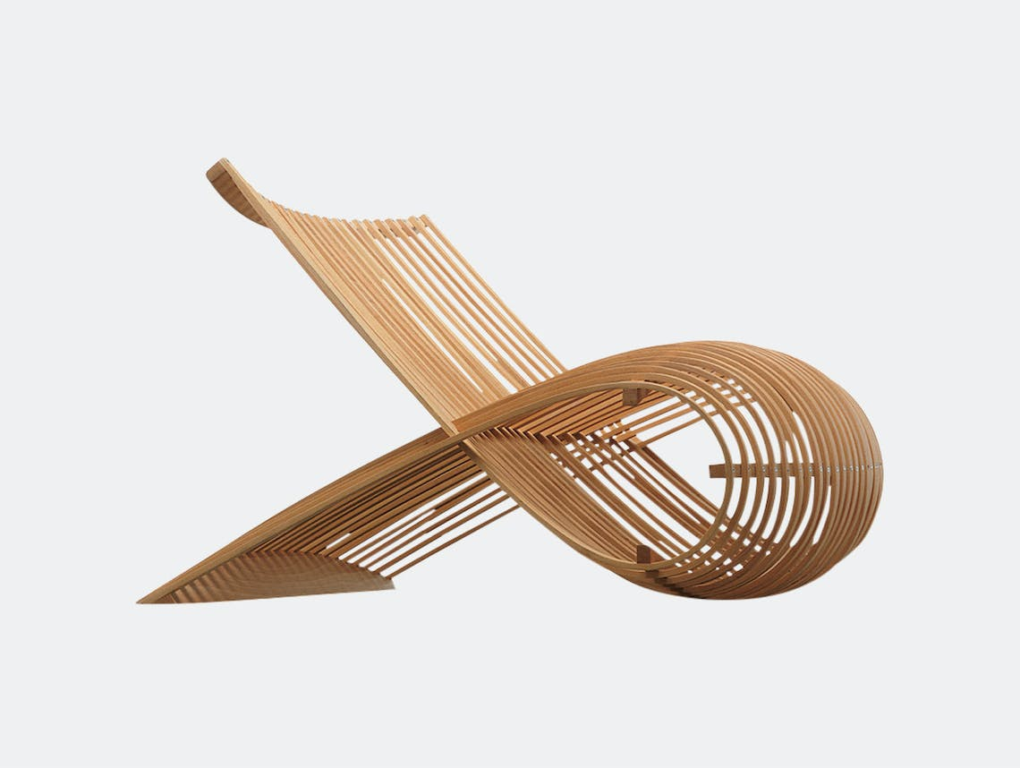 Cappellini Wooden Chair Marc Newson