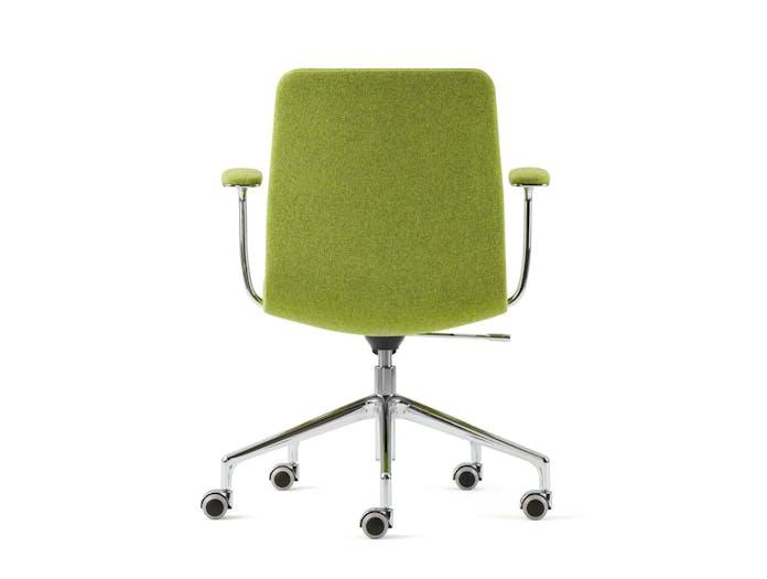 Cappellini Lotus Task Chair Low Green Back Jasper Morrison