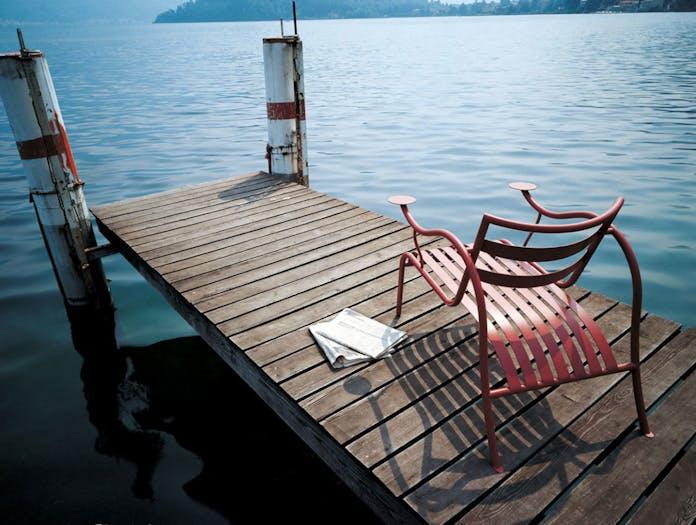 Cappellini Thinking Mans Chair Terracotta Lake Jasper Morrison