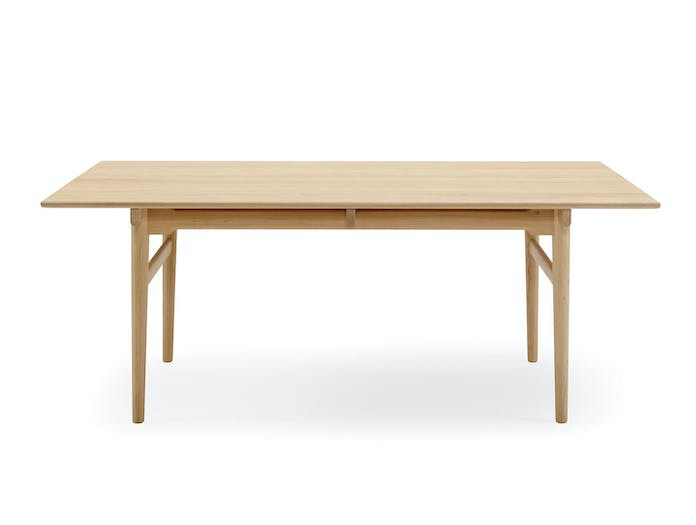 Carl hansen CH327 dining table oak hans wegner 2