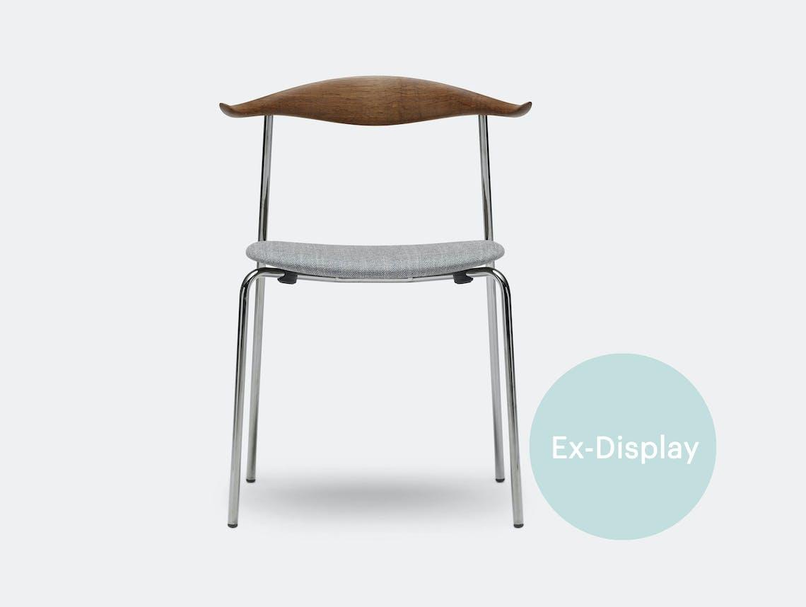 Carl hansen CH88 chair smoked oak hans wegner ex display