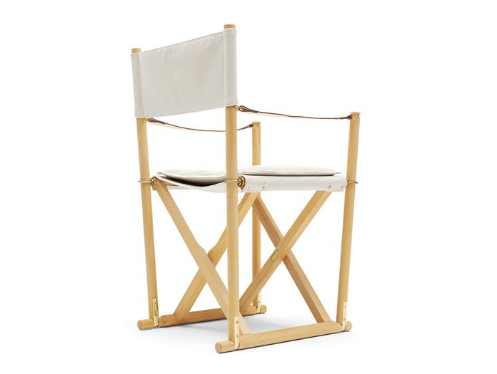 Carl hansen folding chair mogens koch