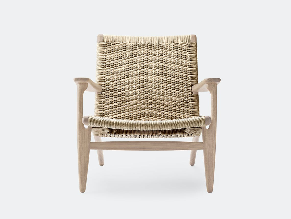 Carl hansen ch25 chair soaped oak 2