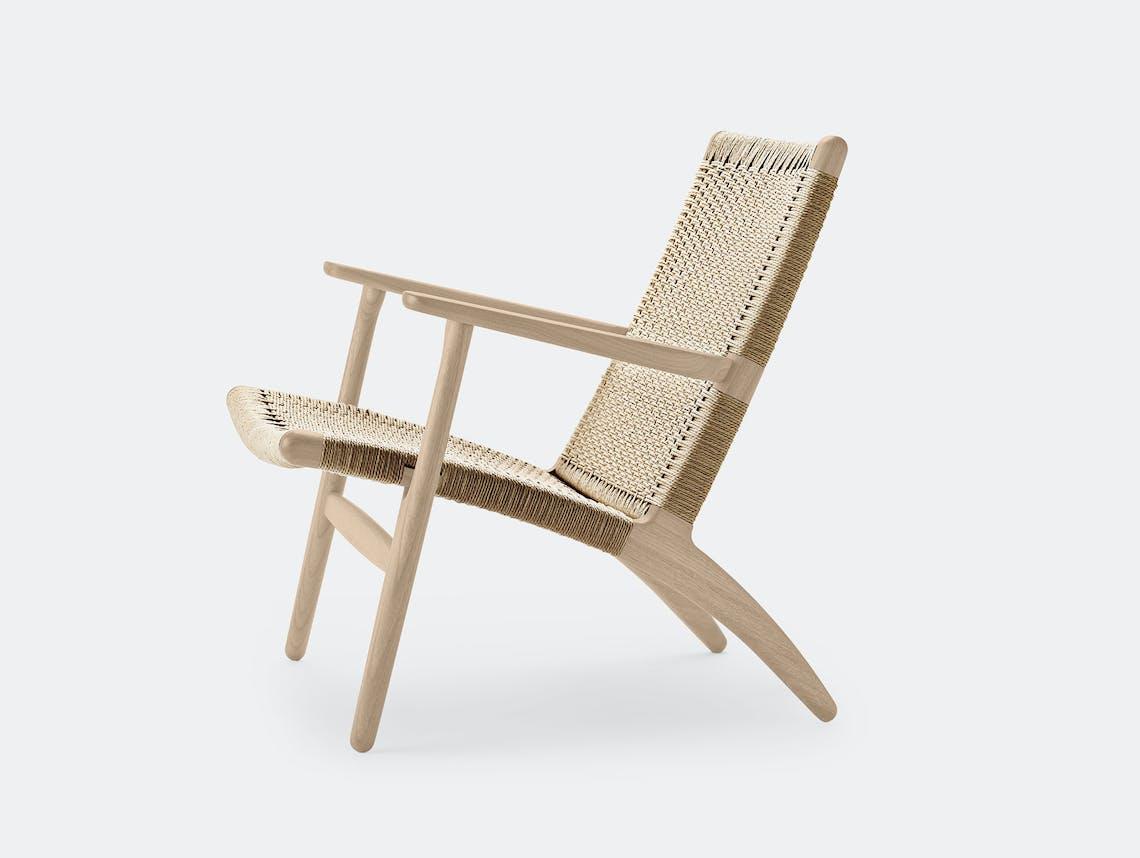 Carl hansen ch25 chair soaped oak 3