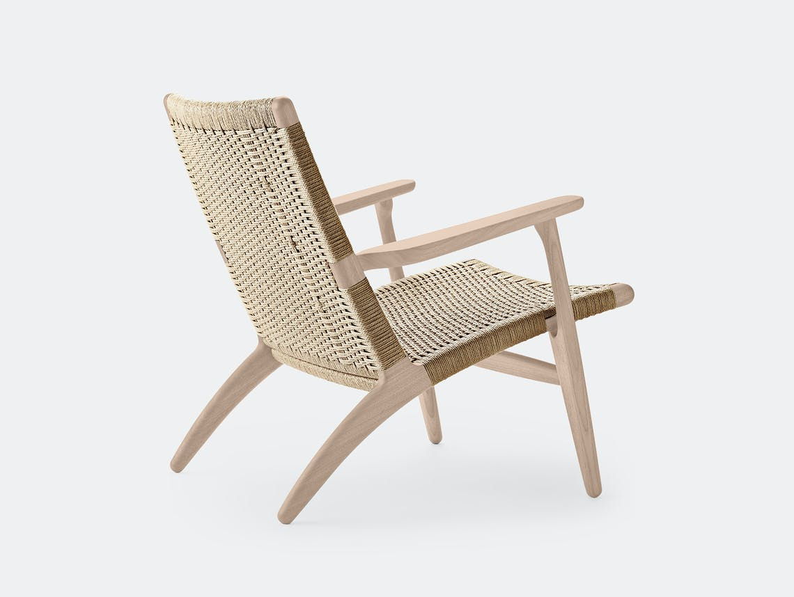 Carl hansen ch25 chair soaped oak