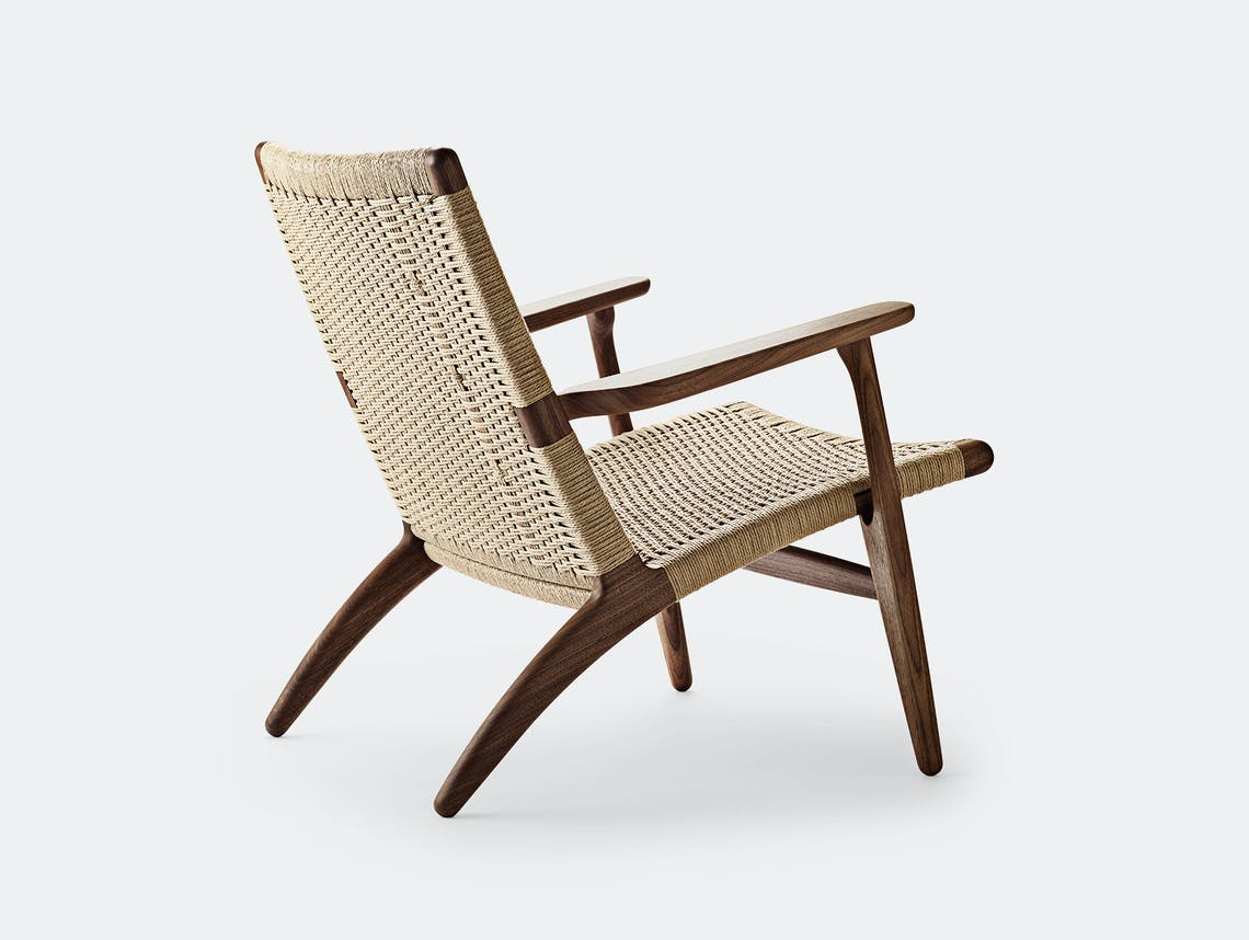 Carl hansen ch25 chair walnut