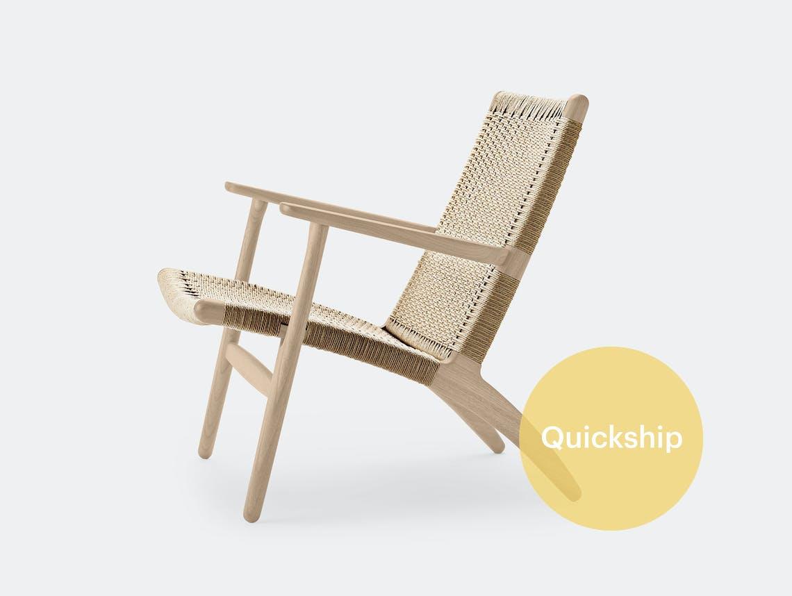 Carl hansen ch25 lounge chair quickship