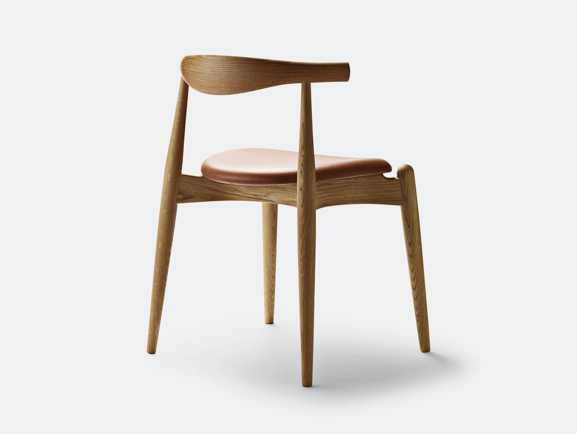 Carl Hansen Ch20 Elbow Chair Oak Oil Sif95 Back