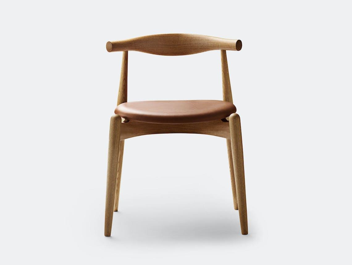 Carl Hansen Ch20 Elbow Chair Oak Oil Sif95