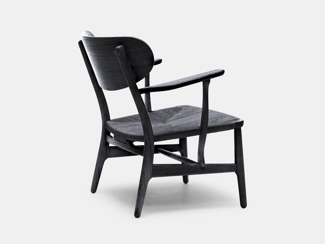 Carl Hansen Ch22 Chair Black Hans Wegner 2