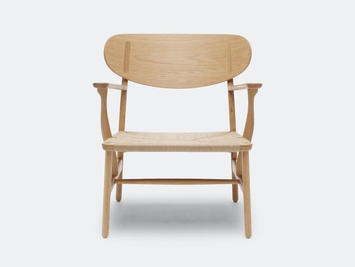 Carl Hansen Ch22 Chair Oak Hans Wegner