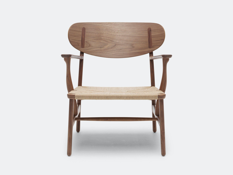 Carl Hansen Ch22 Chair Walnut Hans Wegner