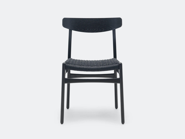 Carl Hansen Ch23 Chair Oak Black Hans Wegner
