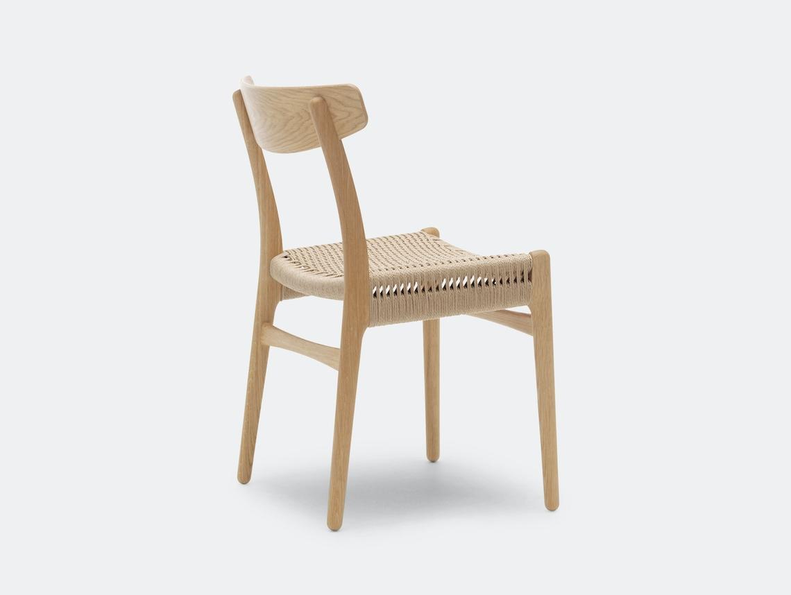 Carl Hansen Ch23 Chair Oak Oil Back Hans Wegner