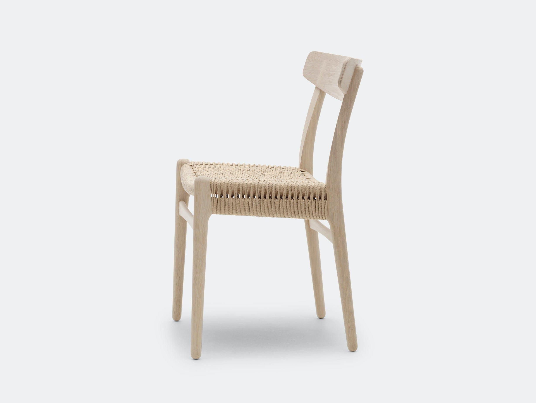 Carl Hansen Ch23 Chair Oak Soap Hans Wegner