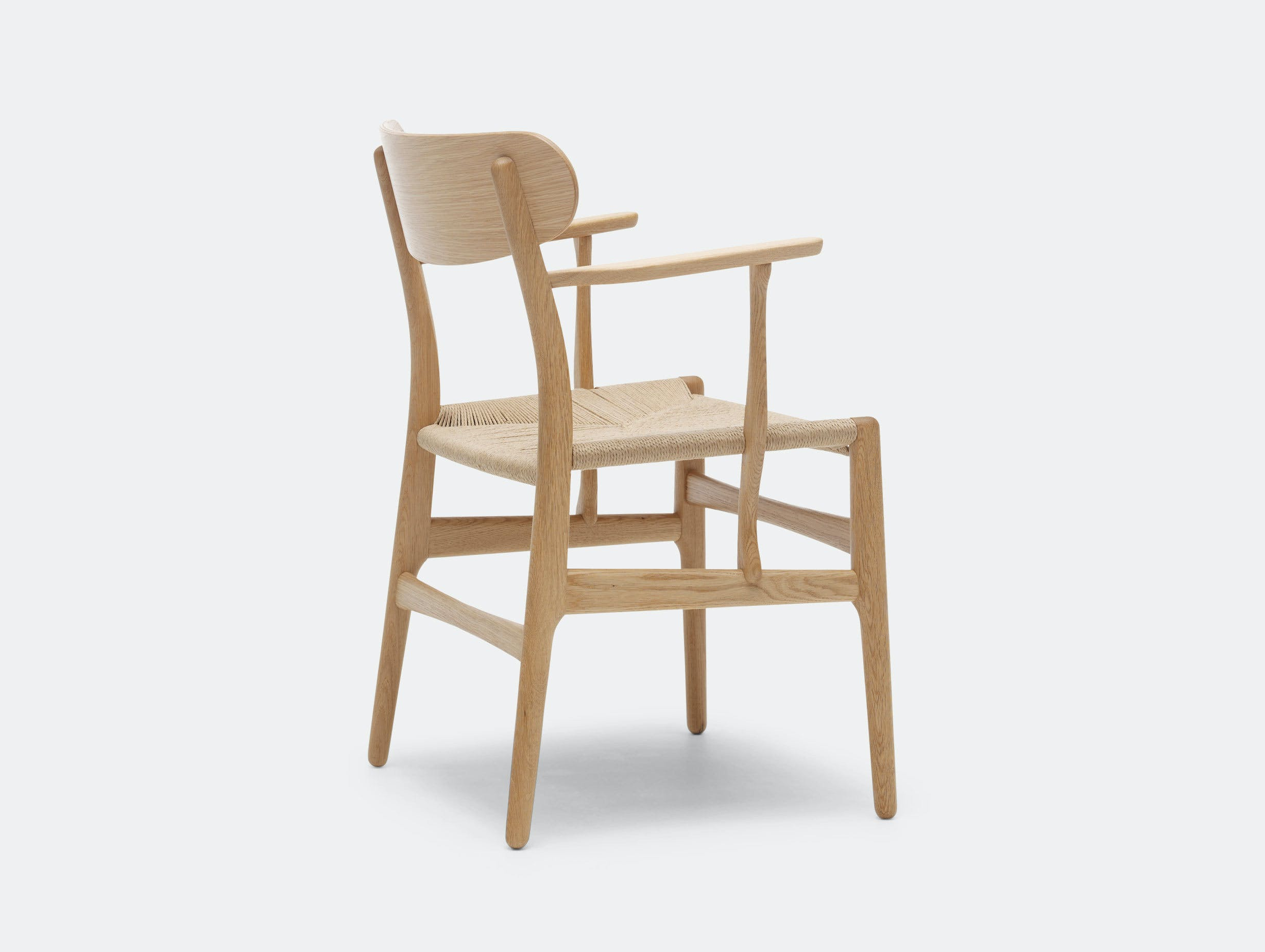 Carl Hansen Ch26 Chair Oak Back Hans Wegner