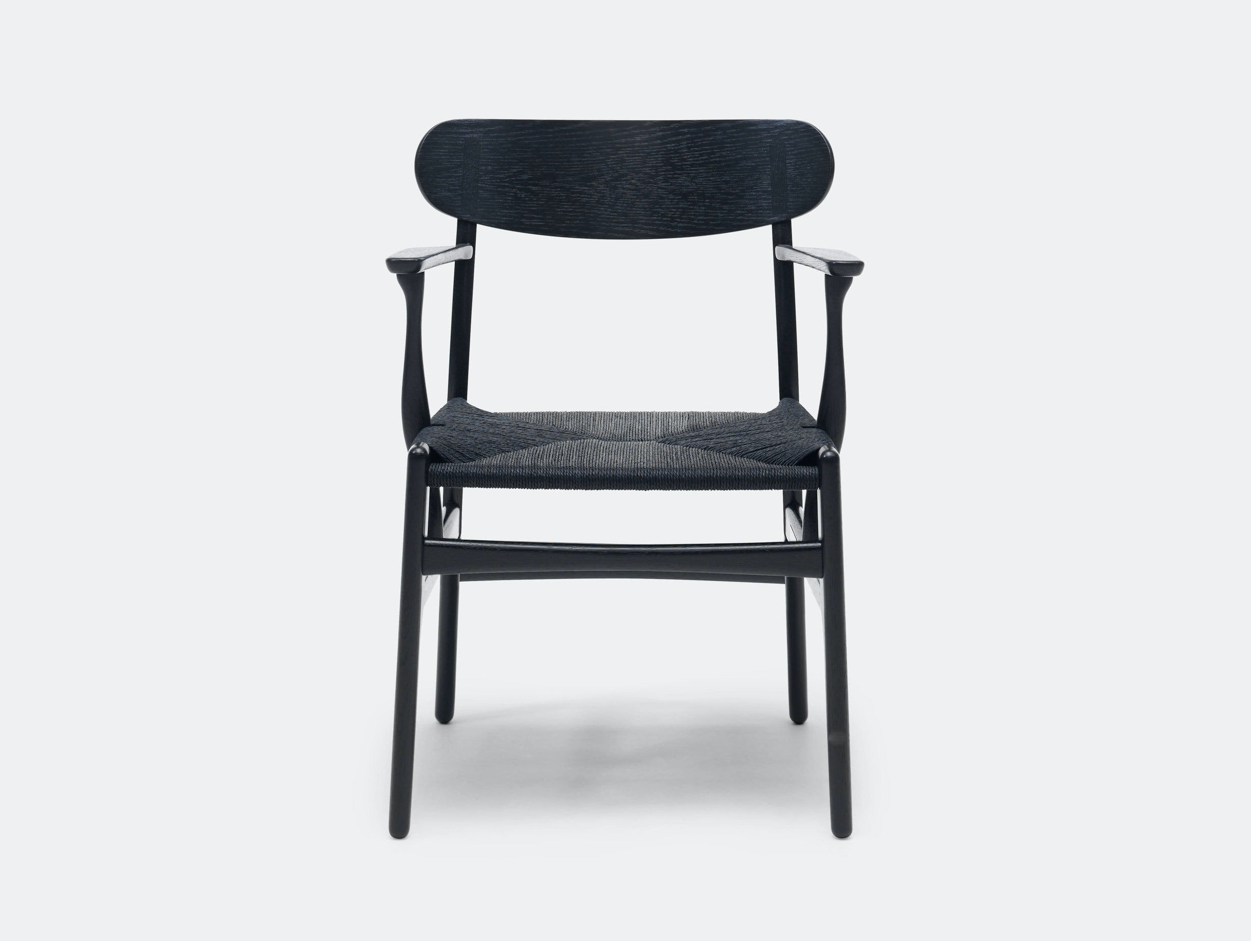 Carl Hansen Ch26 Chair Oak Black Hans Wegner