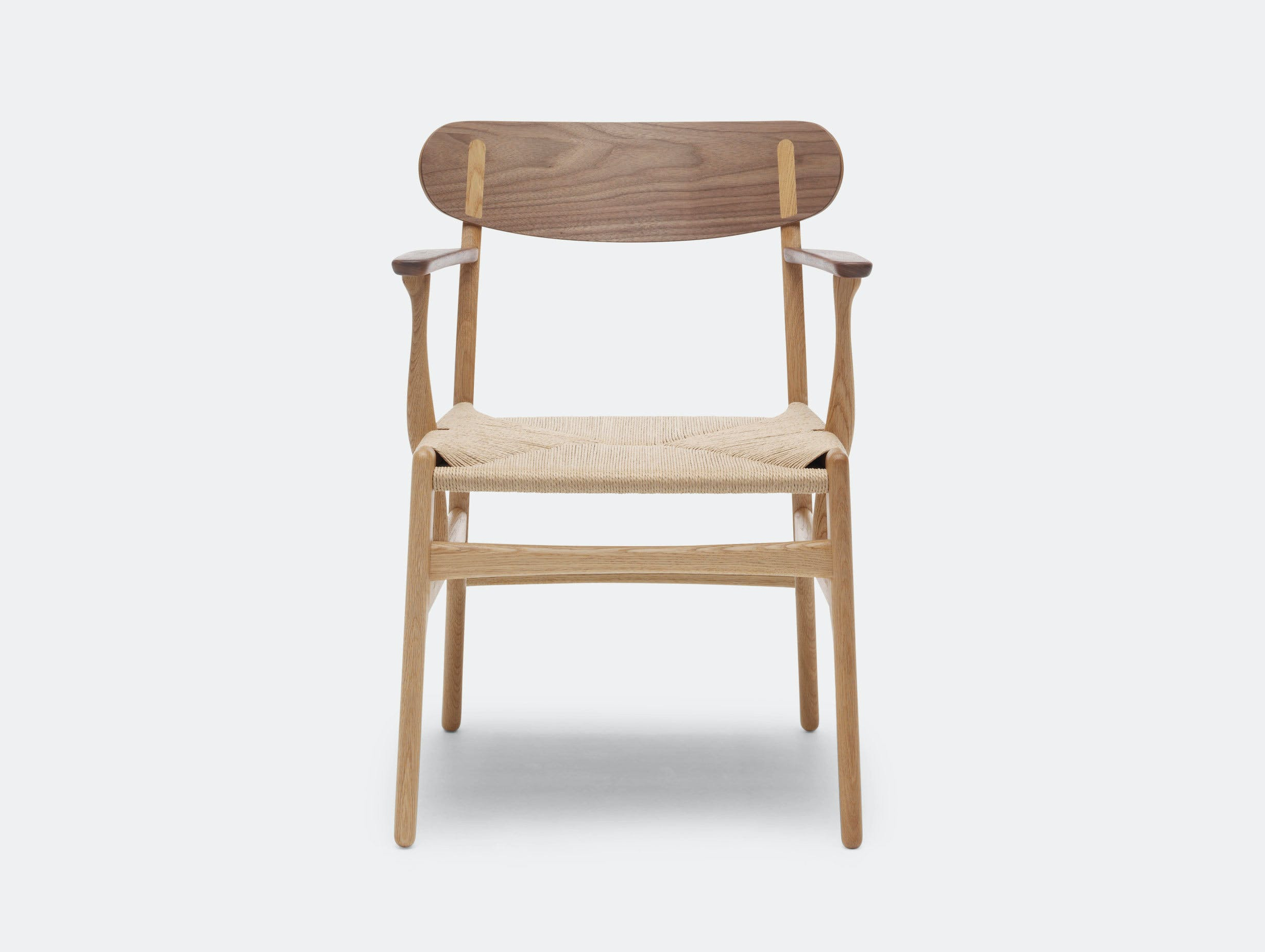 Carl Hansen Ch26 Chair Oak Walnut Mix Hans Wegner