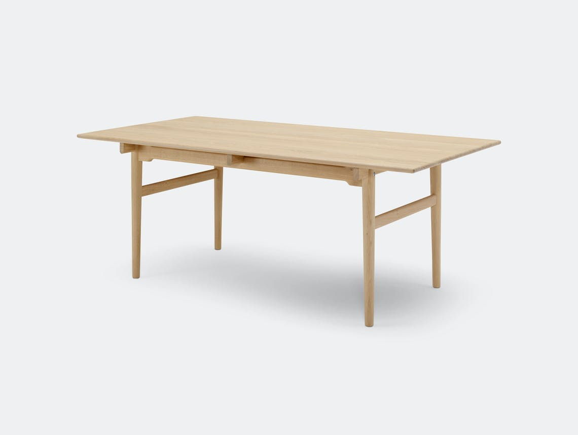 Carl Hansen Ch327 Dining Table Oak Hans Wegner