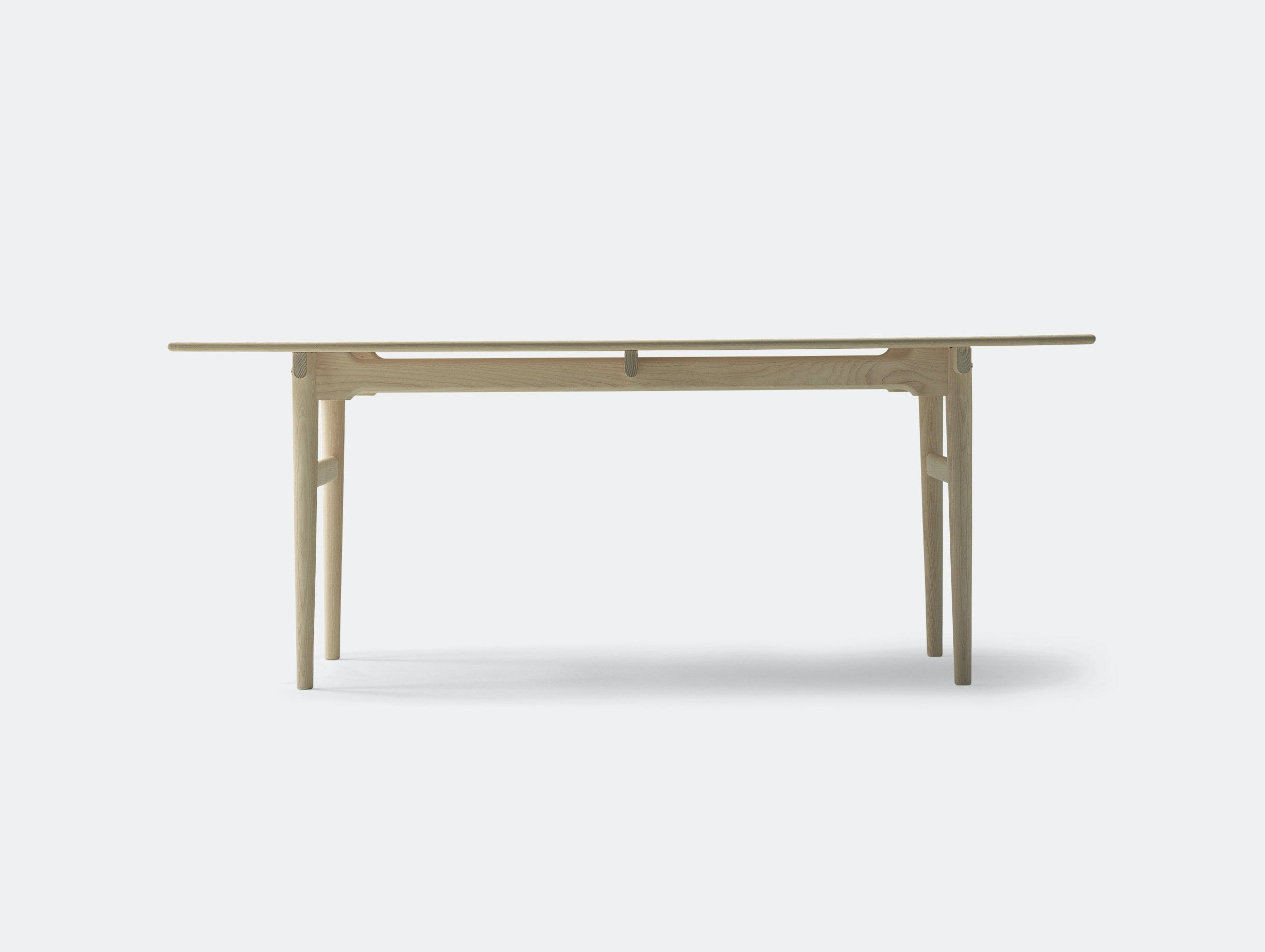 Carl Hansen Ch327 Dining Table Oak Side Hans Wegner