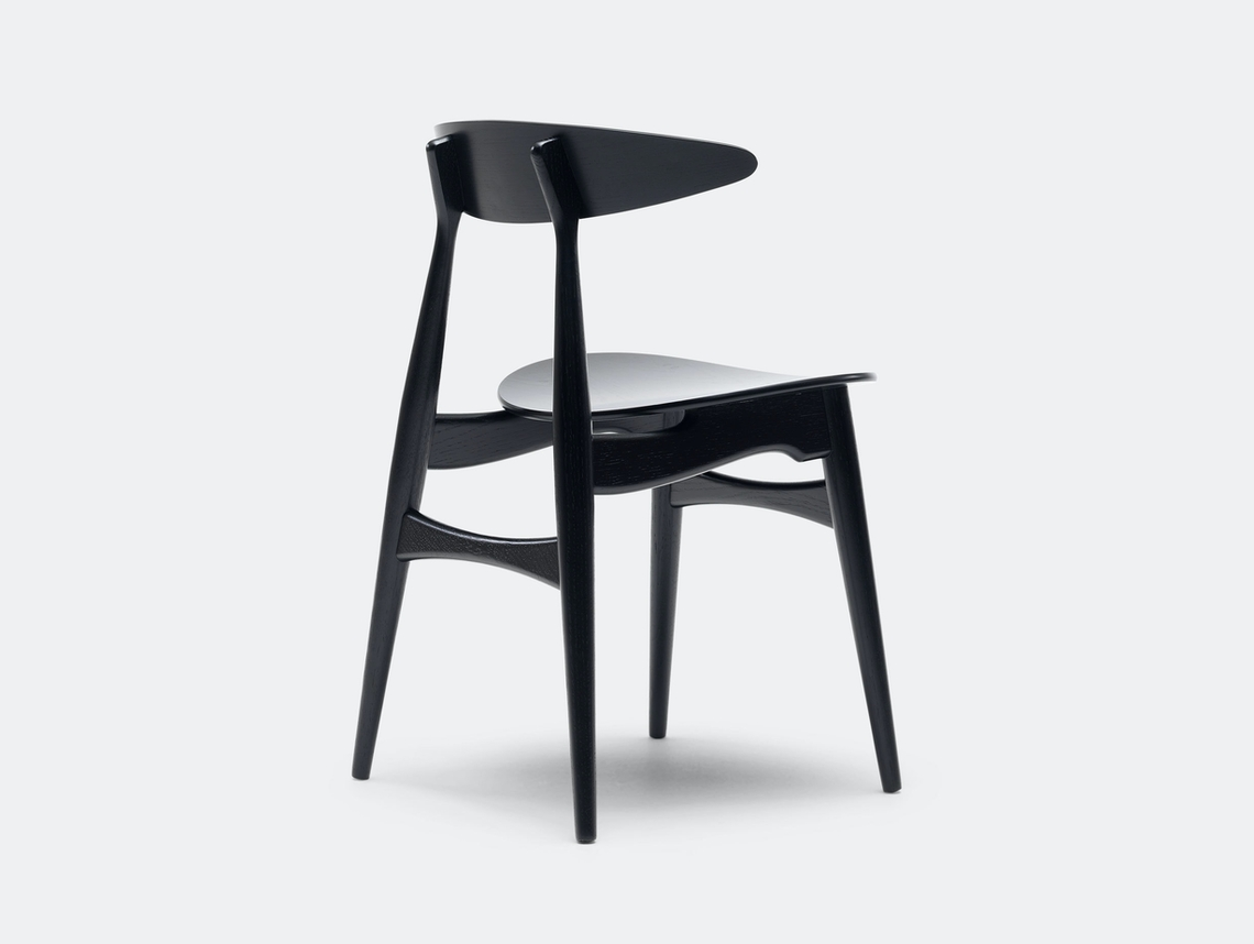 Carl Hansen Ch33 Chair Black Hans Wegner