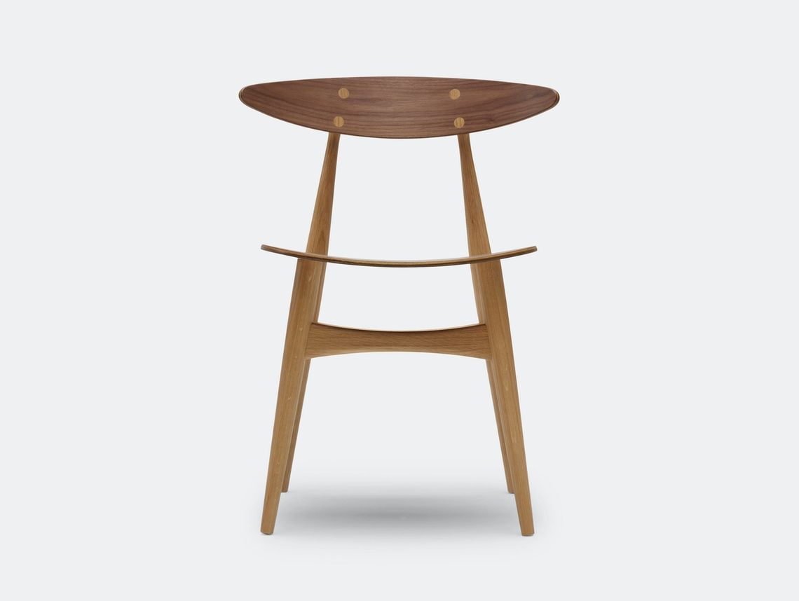 Carl Hansen Ch33 Chair Walnut Oak Hans Wegner