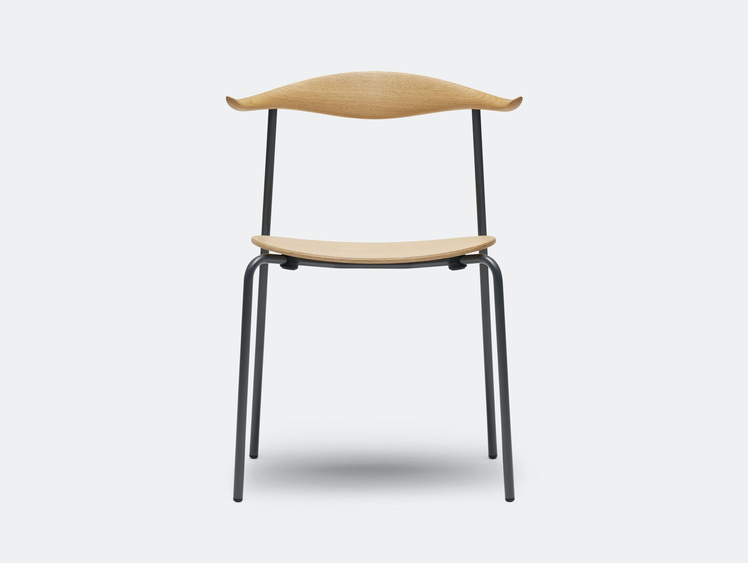 Carl Hansen Ch88 Chair Beech Oil Black Legs Hans Wegner