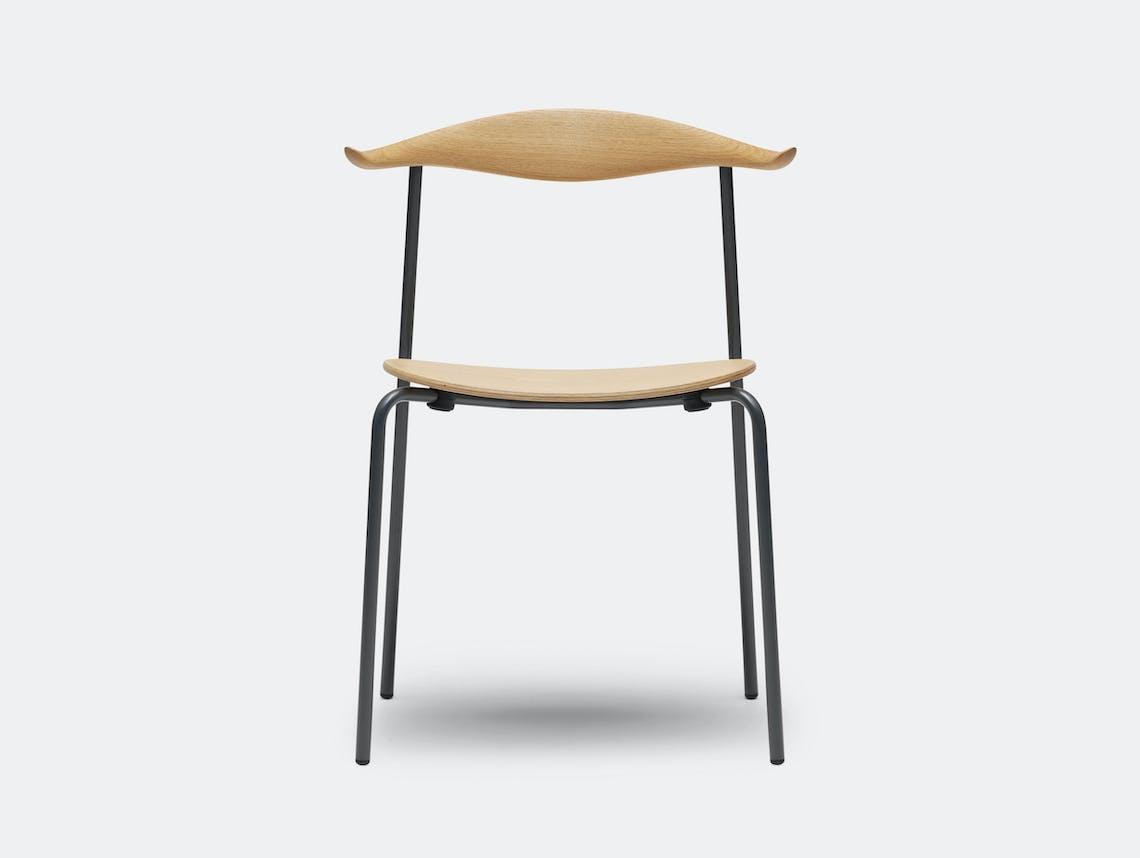 Carl Hansen Ch88 Chair Beech Oil Black Legs Hans Wegner