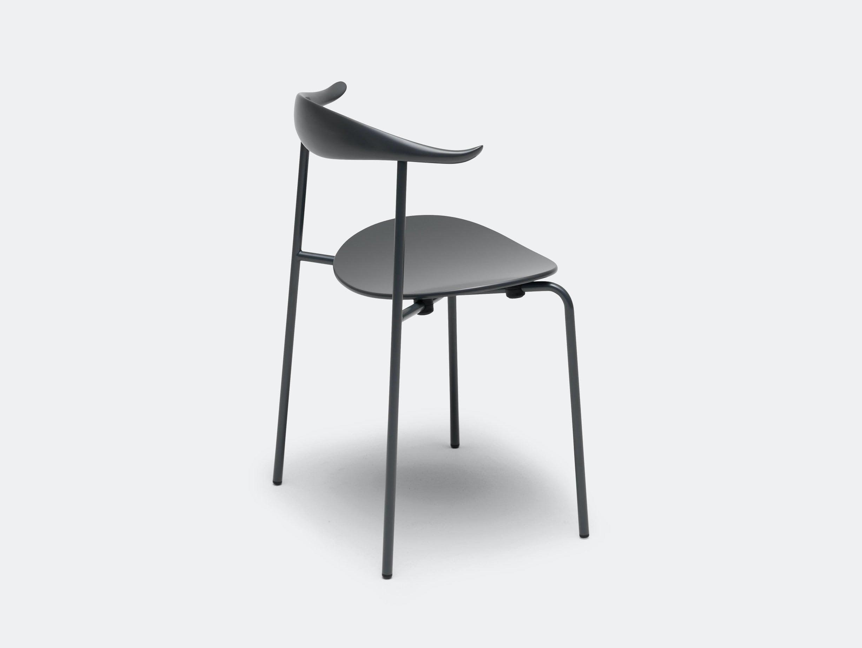 Carl Hansen Ch88 Chair Black Back Hans Wegner