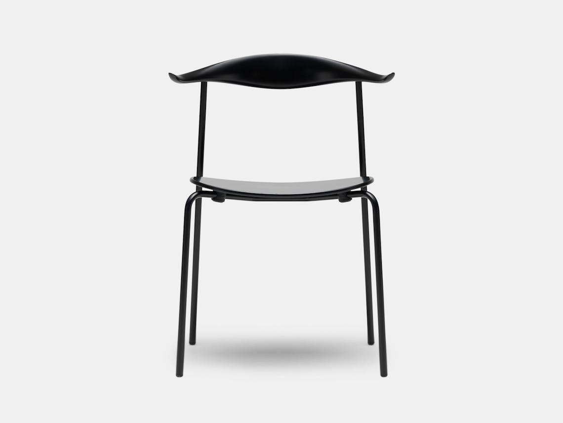 Carl Hansen Ch88 Chair Black Hans Wegner