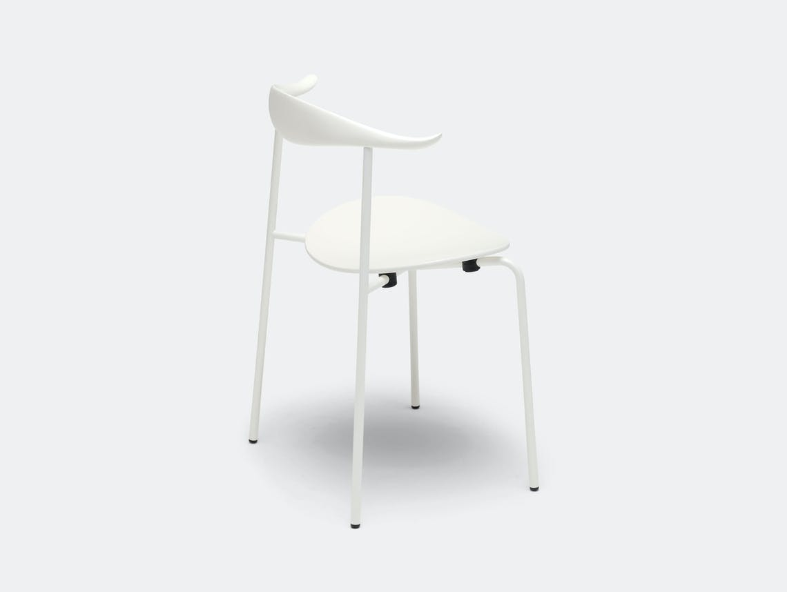 Carl Hansen Ch88 Chair White Hans Wegner