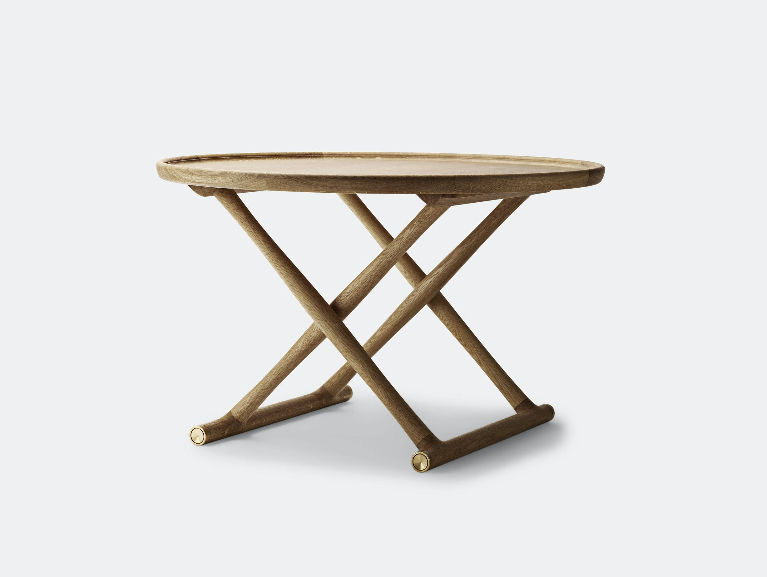 Carl Hansen Ml10097 Egyptian Coffee Table Oiled Oak Mogens Lassen