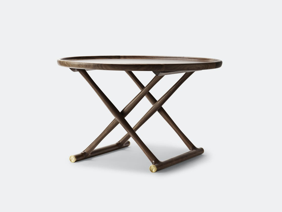 Carl Hansen Ml10097 Egyptian Coffee Table Walnut Mogens Lassen
