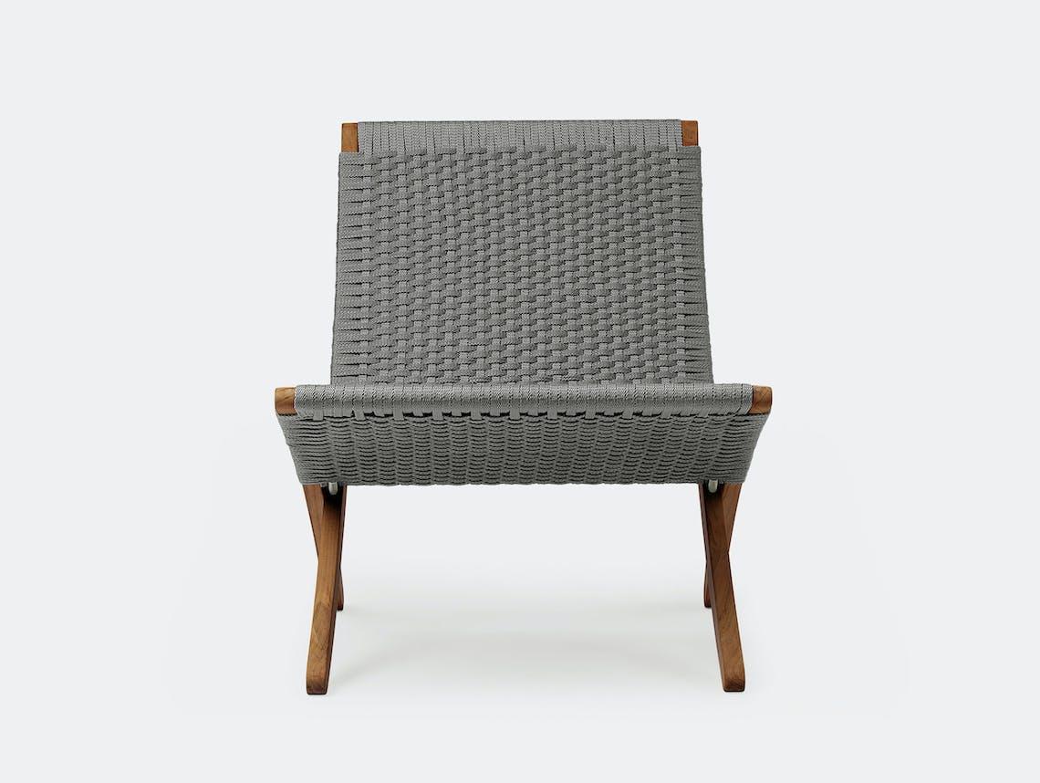 Carl hansen cuba chair mg501 outdoor 2