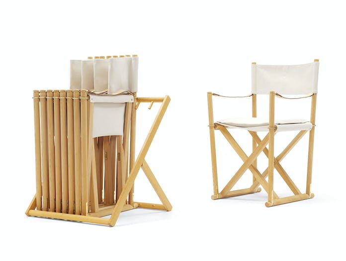 Carl Hansen Folding Chairs Mogens Koch