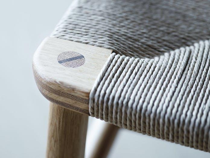 Carl Hansen Ch22 Oak Detail Wedge Wegner