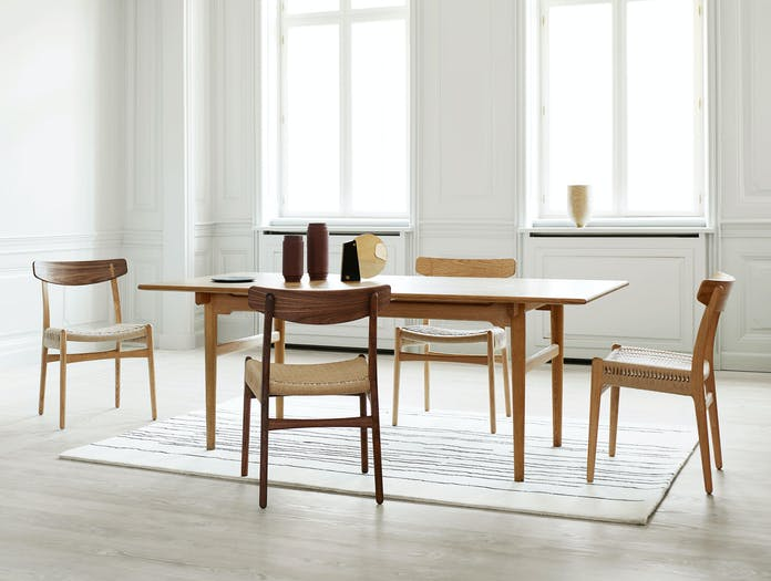 Carl Hansen Ch23 Oak Walnut Oil Ch327 Oak Oil