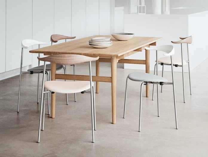 Carl Hansen Ch327 Table Oak Oil