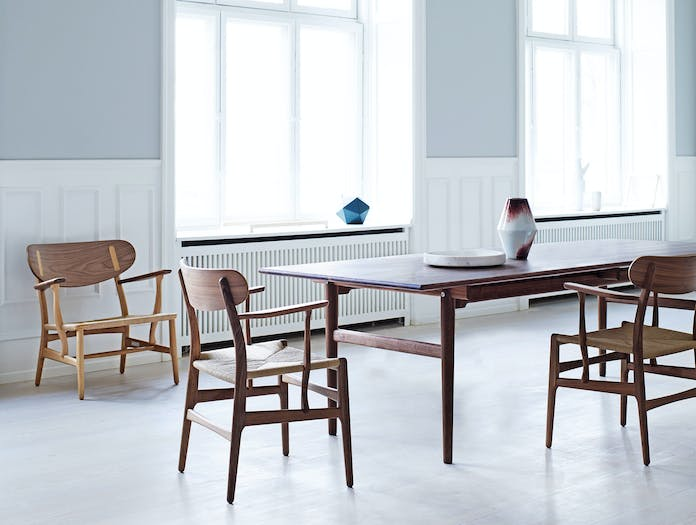 Carl Hansen Ch327 Table Walnut Ch22 Walnut Oak