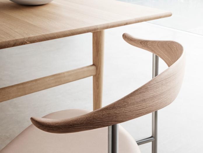 Carl Hansen Ch88 Chair Ch327 Oak Oiled Detail