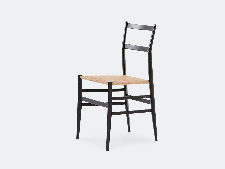 Cassina Superleggera Chair Black Ash Gio Ponti