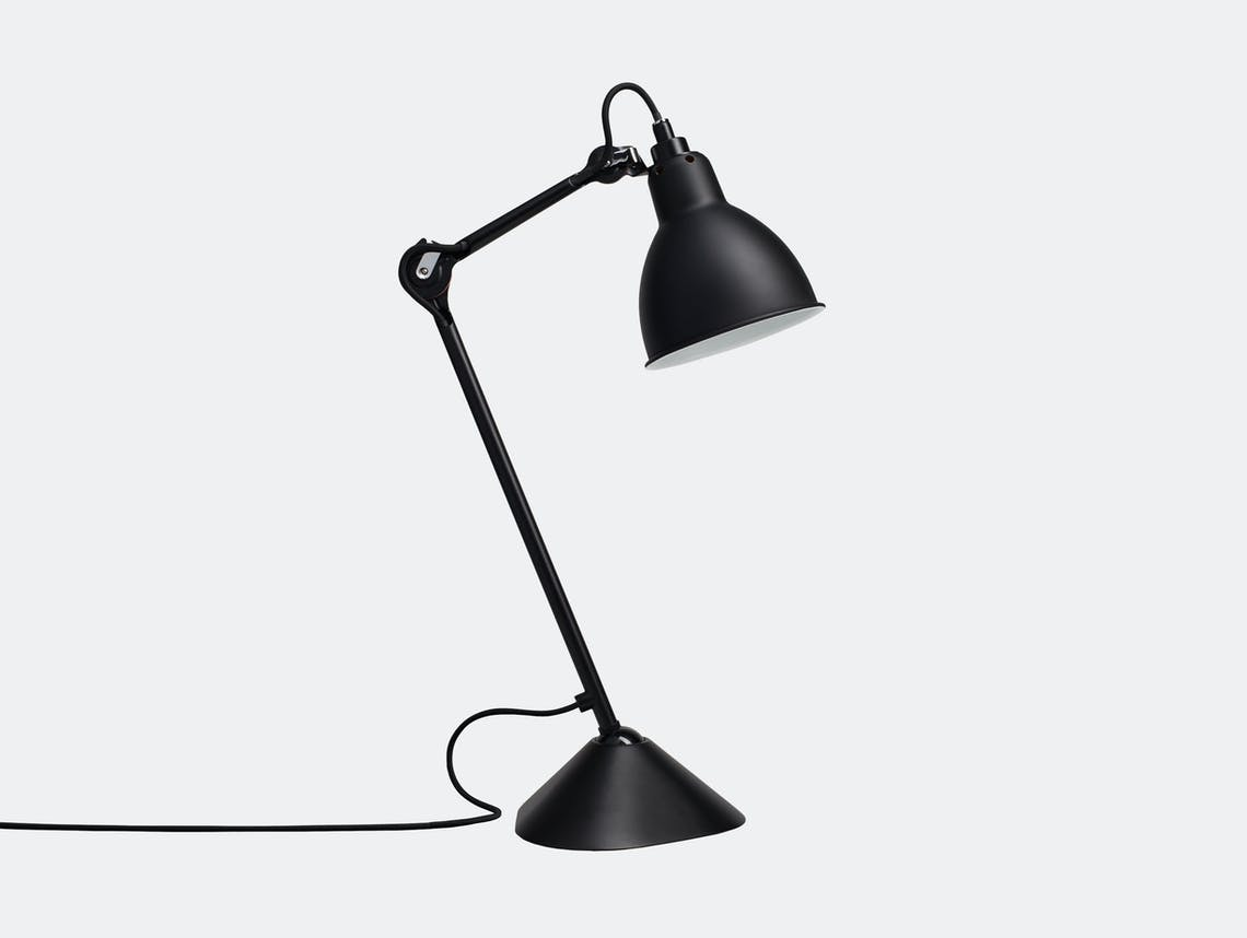 Dcw Lampe Gras No 205 Table Lamp Black Bernard Albin Gras