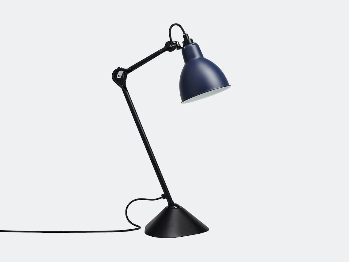 Dcw Lampe Gras No 205 Table Lamp Blue Bernard Albin Gras